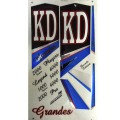 KD Grandes (Series 10) metallic cricket bat stickers