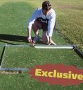 Cricket Turf Pitch Line Marking Frame