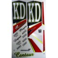 KD Centaur (Series 2) metallic cricket bat stickers